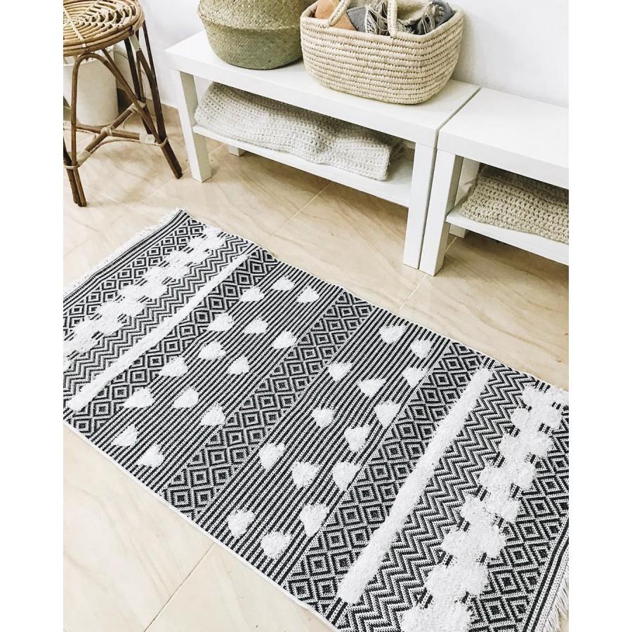 Сканди килим из переработанного хлопка