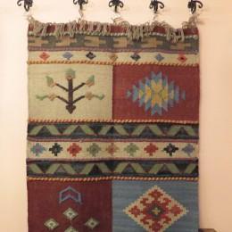 Индийский килим, 96x145 см